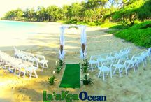 Mahakea Villa 1 / Ocean Front venue providing accommodations for 8-10 guest weddings up to 100