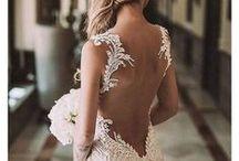 Wedding dresses bride & groom