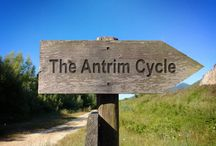 Antrim Cycle / This follows a series of fantasy books taking place in the small town of Antrim, Maine