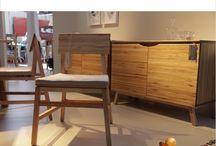 Línea MAFALDA, diseñada por ARN + SALUM para RAD MESAS / Muebles de diseño en madera. Wooden design furniture