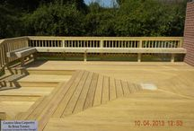 730 Sq. Ft. Deck By Creative Ideas Carpentry By Brian Tenney / This deck was redesigned with all the customer changes they wanted. Built By Creative Ideas Carpentry By Brian Tenney