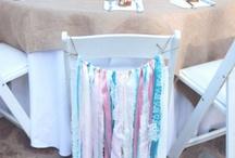 Tuolin koristelu - Chair decoration