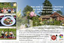 Centennial Year / Fruitlands Museum is celebrating its 100th birthday on June 21, 2014.