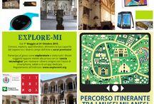 explore Milan / Caccia al tesoro tra i musei milanesi dal 1° maggio al 31 ottobre 2015 -  Treasure hunt among 10 museums of Milan from May 1st and October 31th - Regolamento e premi/Rules and prizes: http://bit.ly/exploremi  #hannspree #milano #expocittà #art