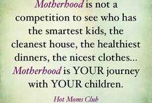 Children and motherhood...