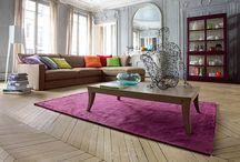 coloured lounge