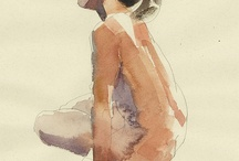 Watercolour-Figures