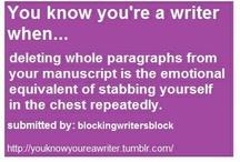 Writing / by Hayden Braeburn