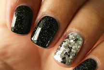 Glitter Nails / by Stephanie Michael
