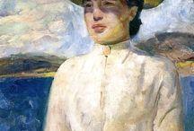 arte - Edvard Munch (1863 -1944) / arte - pittore norvegese