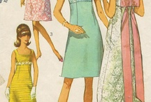 Vintage Sewing Patterns / by Janet Conkin