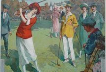 Affiche Passion - Golf vintage posters / Golf vintage posters Affiches anciennes de golf