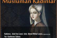 İz Bırakan Müslüman Kadınlar Konferansı / İz Bırakan Müslüman Kadınlar Konferansı