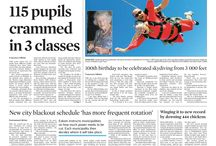 Front pages - February 2015 / News