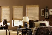 Natural Woven Woods / Natural woven woods: As the name suggests, these window coverings are made of natural materials like bamboo, jute, rattan. You can order them in various options like Roll shades, Roman shades, panel drapes depending upon your taste and requirements. Available with features like Top down-bottoms up, continuous loop. http://www.windowinspirations.ca/