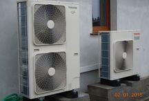 Heat Pump Air to wather / Toshiba estia Heat pump