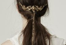 crowns and barrettes