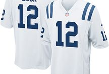 Colts Andrew Luck Blue Authentic Jersey For Women's & Youth & Men's All Size