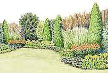 Drawing Garden Plan