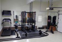 siłownia w garażu
