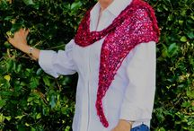 Elegant Hand Knit Wraps by Sip & Knit