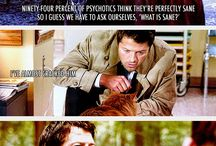 Supernatural / Saving characters, hunting feels...the fangirl business. / by Juliet Mckenzie