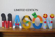 letras para decorar fiesta