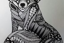Doodle - Ulv / Ræv