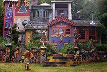 arty houses