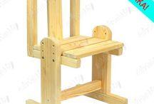Мебель стулья детям ростущие