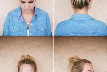 If only I could make a damn messy bun... / Hair shit / by Britanie Speziale