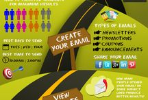 Infographics / Email marketing infographics.
