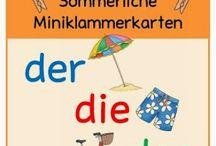 Ideenreise: Sommerliche Miniklammerkarten