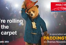 Paddington Bear / We have a beary special association with Paddington this autumn. Keep up to date with his antics on our dedicated Paddington  board.