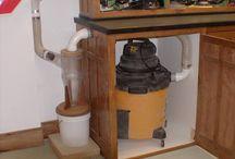 Woodworking studio and equipment
