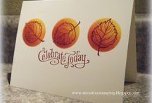 cards Thanksgiving / by Cheryl Mayo