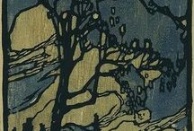 American Arts and Crafts Movement Printmakers