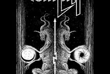 Chris Kiesling of Misanthropic Art / Chris Kiesling of Misanthropic Art creates detailed ink illustrations focused on dark imagery and inspired by the heavy music scene.