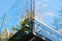 Glass rekkverk