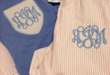 If it's not monogrammed, is it even yours?  / by Hannah Evatt