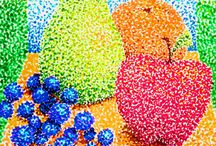 Pointillism Art