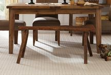 Only Natural carpet- inspired by natural handcrafted materials / A classic herringbone carpet