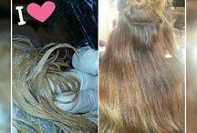 mis trabajos peluquera