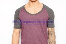 Scoop Neck T Shirt Manufacturers in India