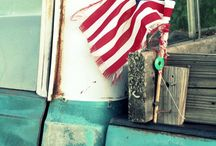 Fourth of July fun / Fourth of July inspiration, American flags, American pride