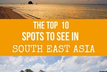 South East Asia  / South East Asia is one of the most gorgeous places I've seen in pictures and I'll be able to let you know if it's the same in real life! Vietnam, Cambodia and Laos