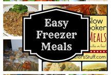 Freezer Meals / by Melissa Bauer