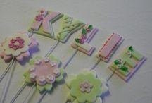 cake toppers / by Pamela Webster