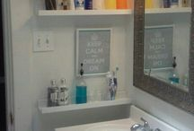 Bathroom storage / by Kathy Smith