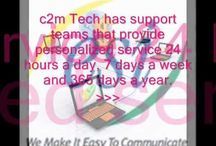 Telephone Systems Fort Worth / c2m Tech is no longer just an expert & leader  in Telephone Systems.